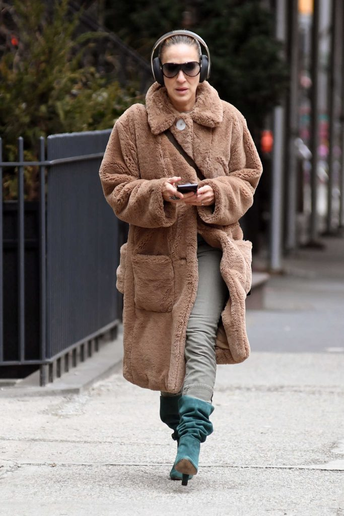 Sarah Jessica Parker Was Spotted Out in New York City 02/12/2018-1