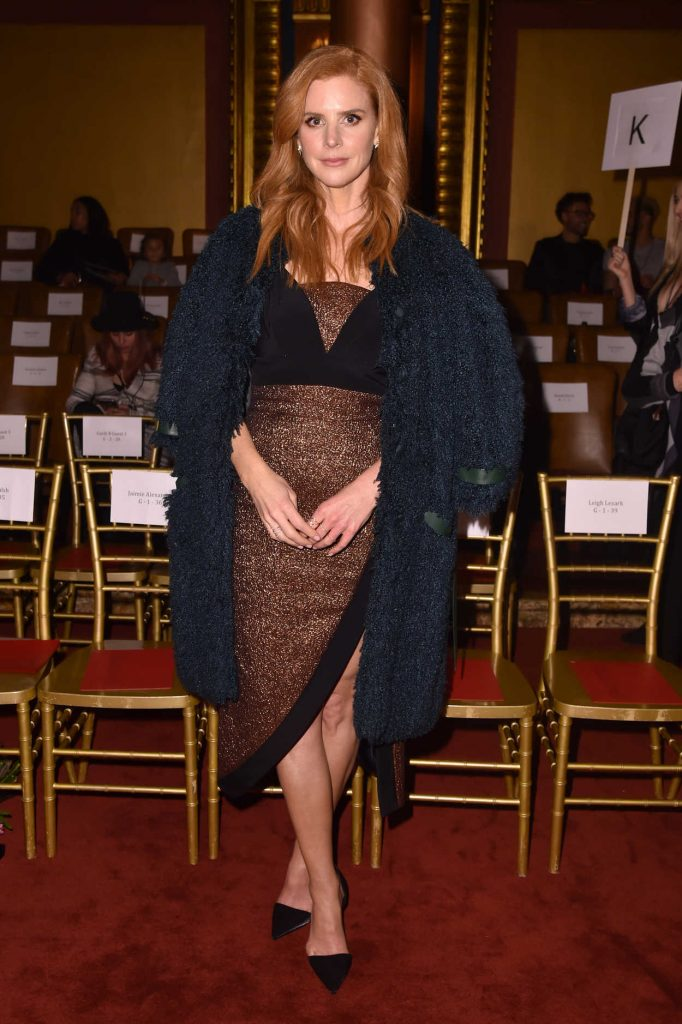 Sarah Rafferty at the Christian Siriano Fashion Show During New York Fashion Week in New York City 02/10/2018-3