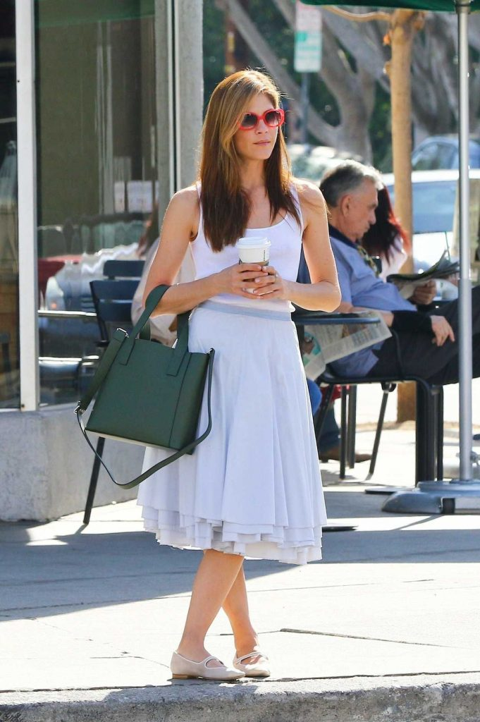 Selma Blair Grabs a Coffee in Studio City 02/01/2018-2