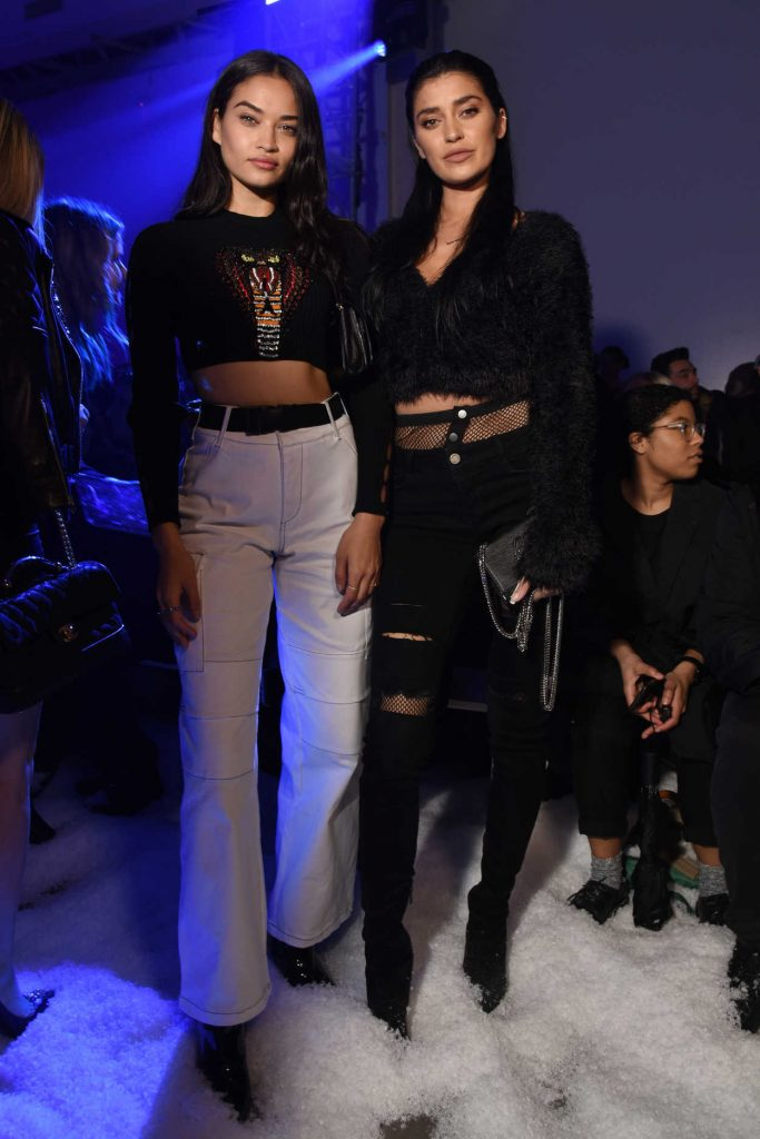 Shanina Shaik at the Philipp Plein Fashion Show During New York Fashion Week in New York City 02/10/2018-5
