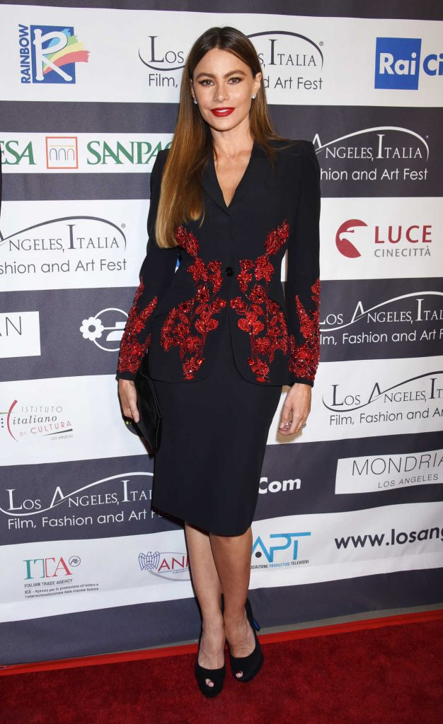 Sofia Vergara at Italia Film, Fashion and Art Festival in Los Angeles 02/25/2018-1