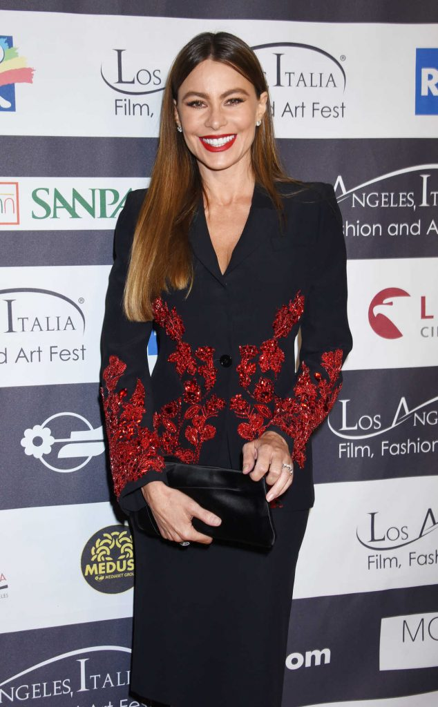 Sofia Vergara at Italia Film, Fashion and Art Festival in Los Angeles 02/25/2018-2