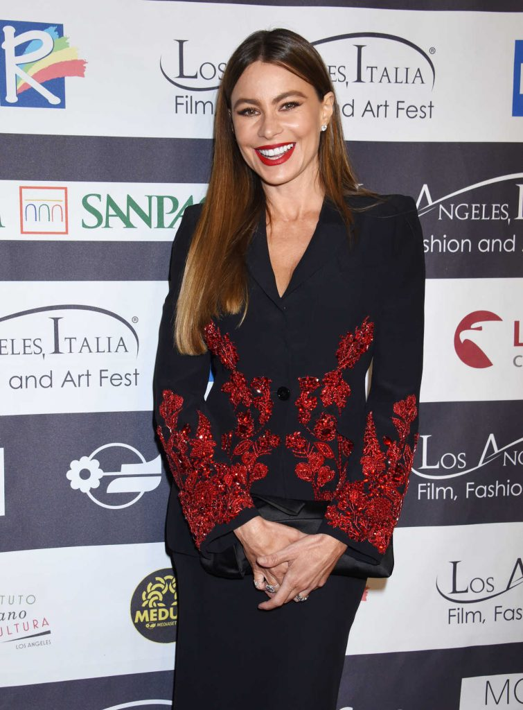 Sofia Vergara at Italia Film, Fashion and Art Festival in Los Angeles 02/25/2018-3