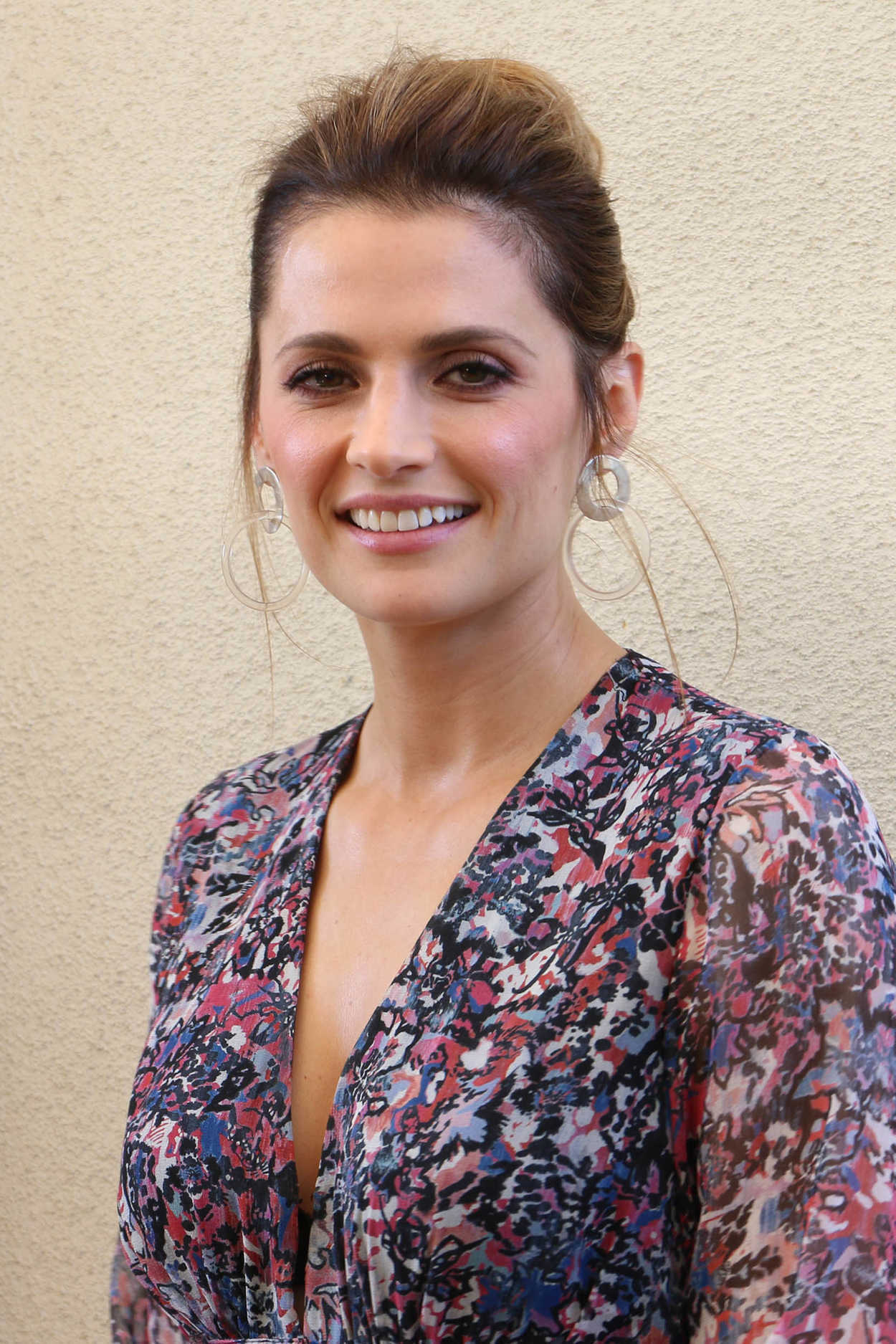 Stana Katic at Absentia Press Conference in Los Angeles 01