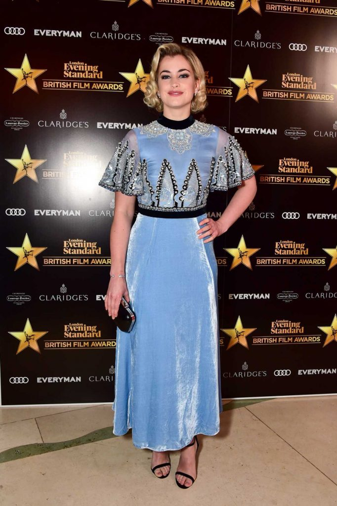 Stefanie Martini at London Evening Standard British Film Awards in London 02/08/2018-2