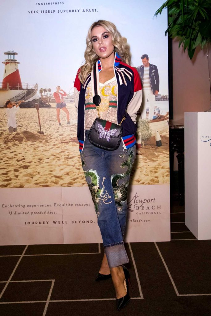 Tallia Storm at the Newport Beach Annual UK Honours Event in London 02/15/2018-4