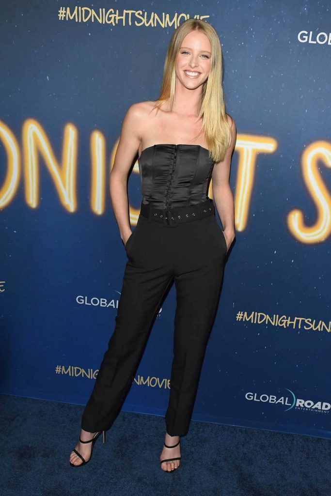 Abby Champion at the Midnight Sun Premiere in Los Angeles 03/15/2018-1