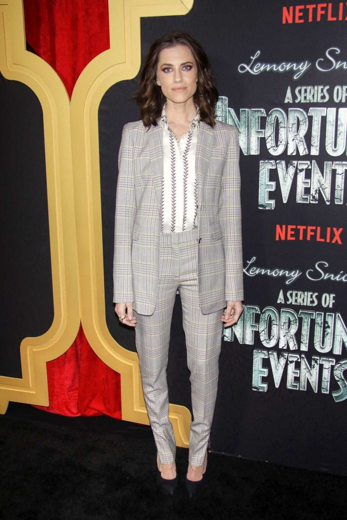Allison Williams at A Series of Unfortunate Events TV Show Premiere in New York City 03/29/2018-1