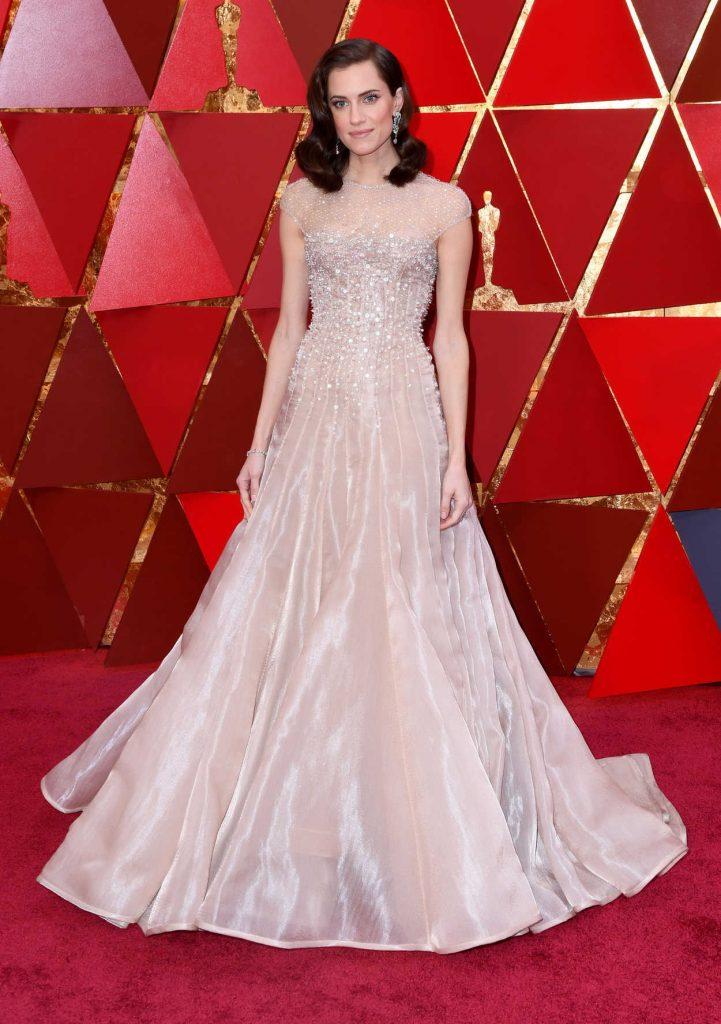 Allison Williams at the 90th Annual Academy Awards in Los Angeles 03/04/2018-1