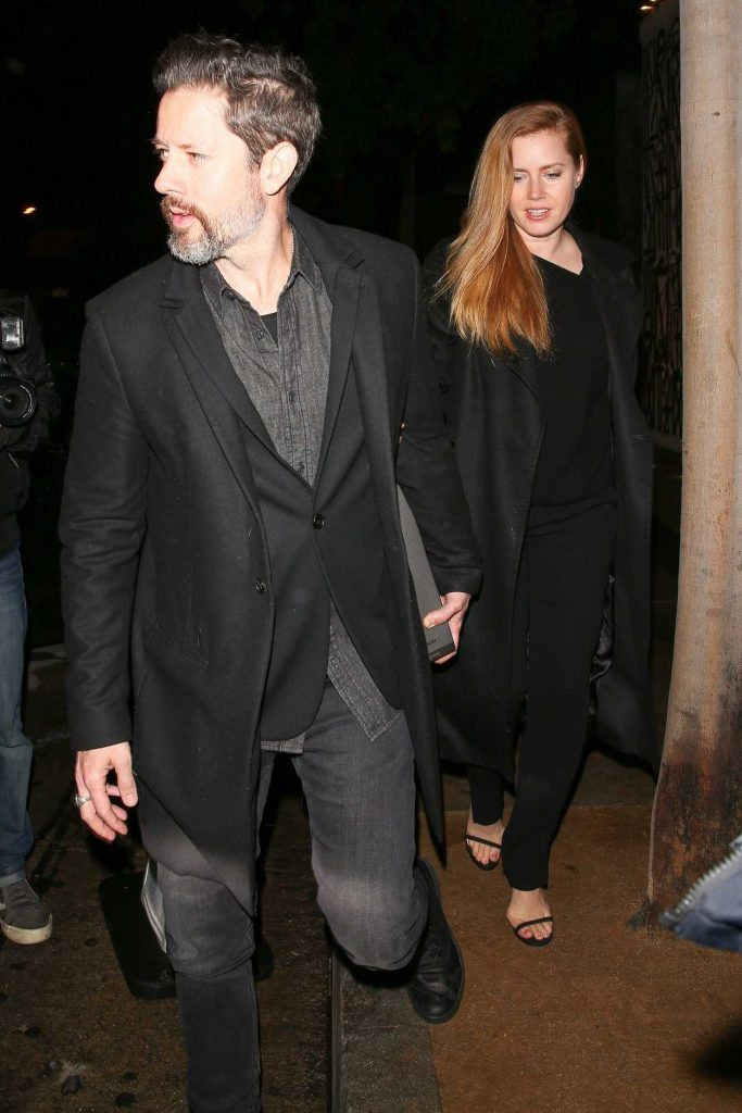 Amy Adams Out for a Dinner Date at Craig's Restaurant with Darren Le Gallo in West Hollywood 03/16/2018-1