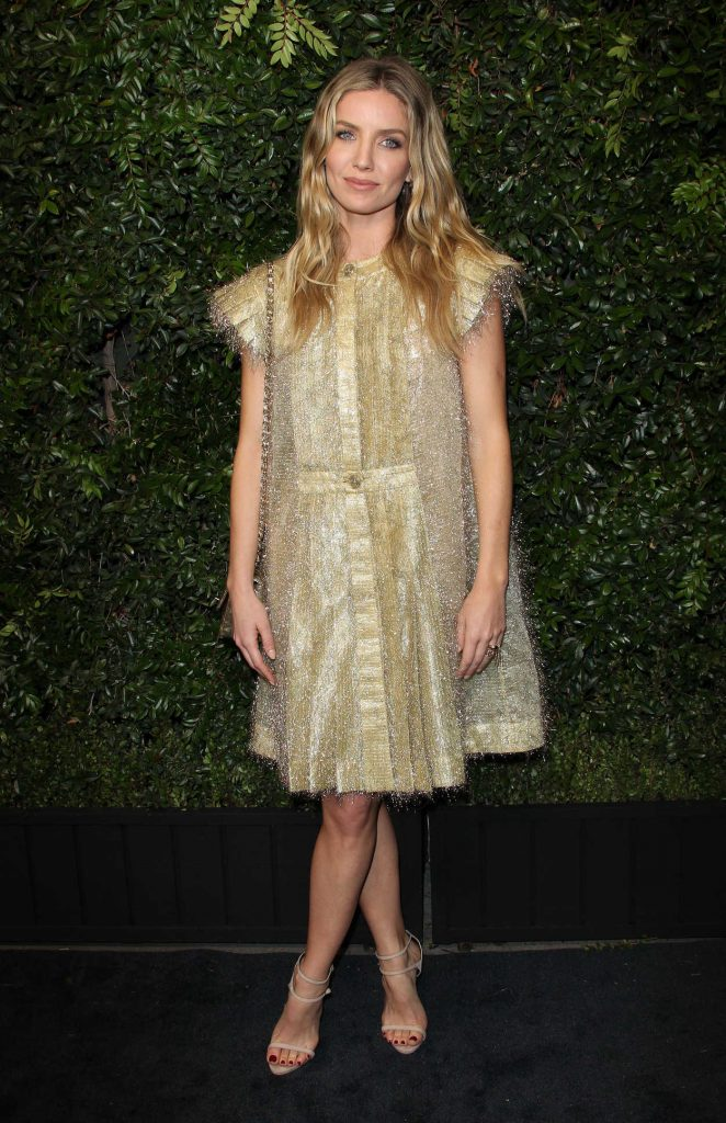 Annabelle Wallis at the Chanel and Charles Finch Pre-Oscar Dinner in Los Angeles 03/03/2018-2
