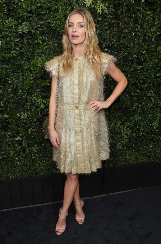Annabelle Wallis at the Chanel and Charles Finch Pre-Oscar Dinner in Los Angeles 03/03/2018-3