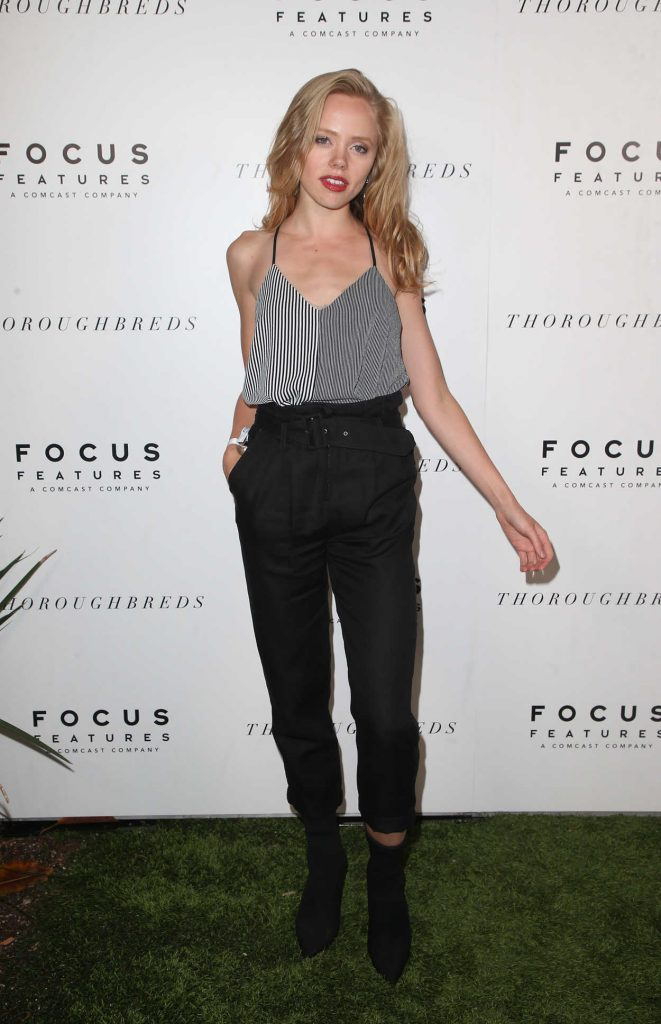 Annalisa Cochrane at the Focus Features Thoroughbreds Special Screening Reception in Los Angeles 02/28/2018-2