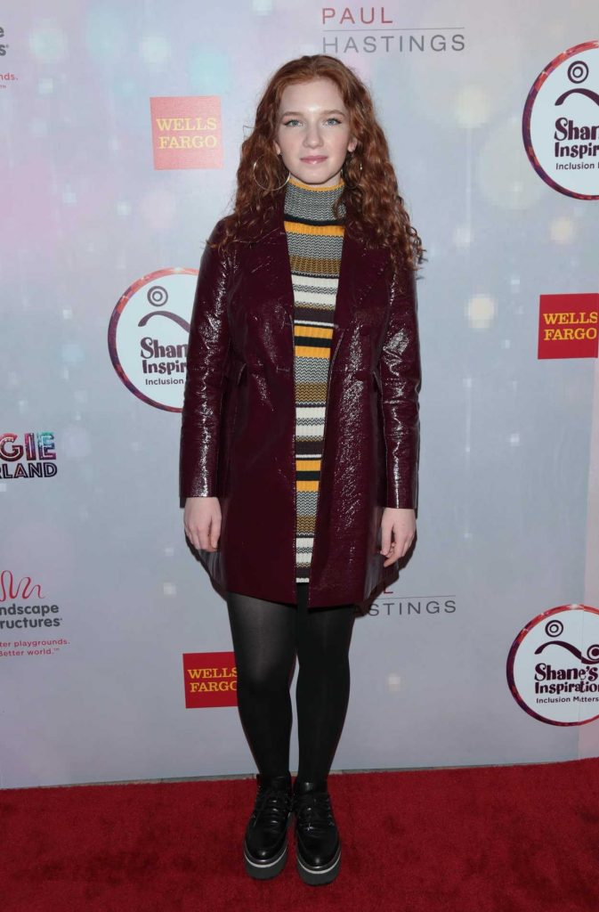Annalise Basso at the Shane's Inspiration 20th Anniversary Gala at the Vibiana in Los Angeles 03/10/2018-2