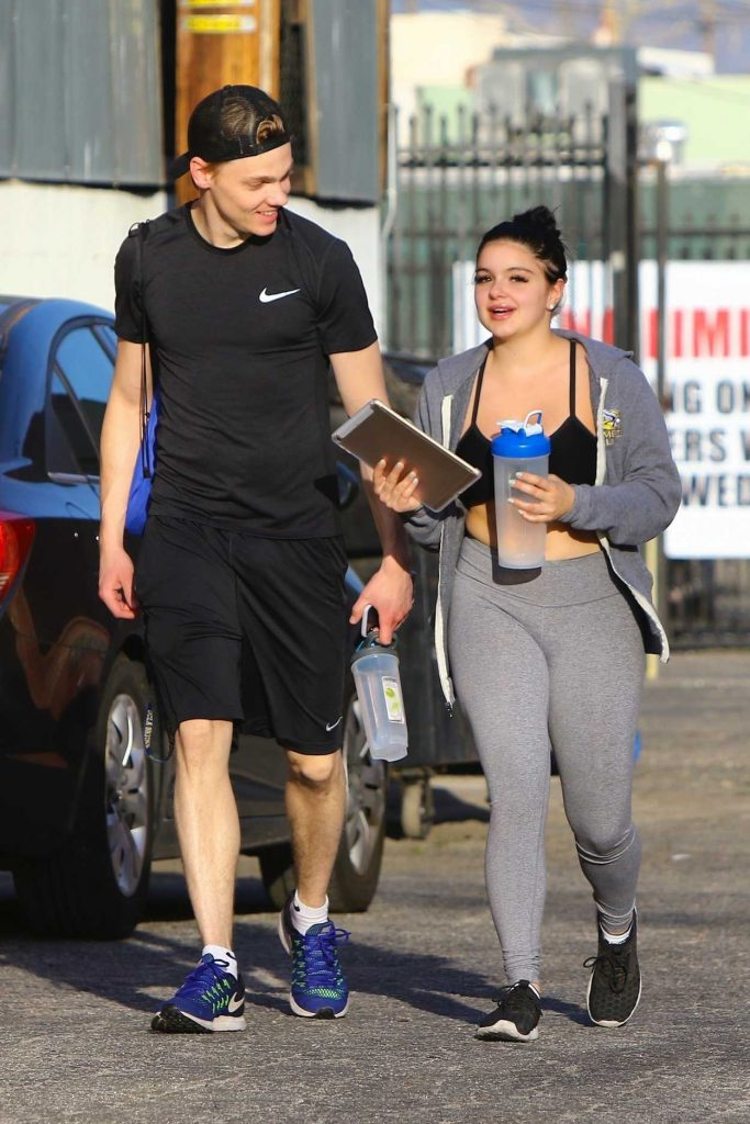 Ariel Winter Leaves Her Gym in Los Angeles 03/08/2018-1