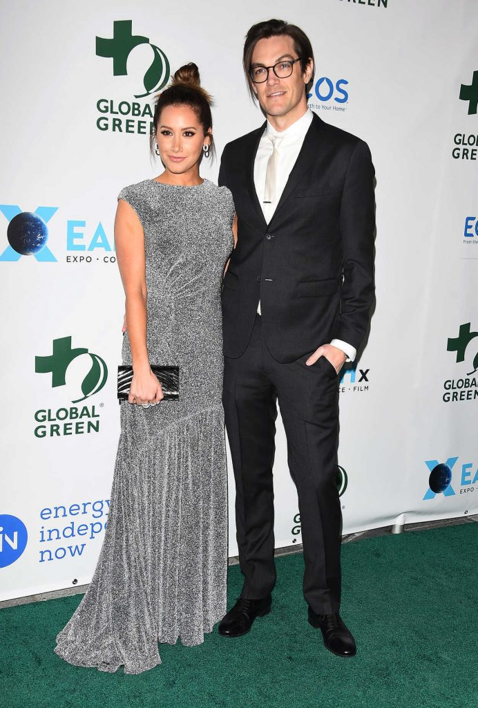 Ashley Tisdale at the 15th Annual Global Green Pre-Oscar Gala in Los Angeles 02/28/2018-3