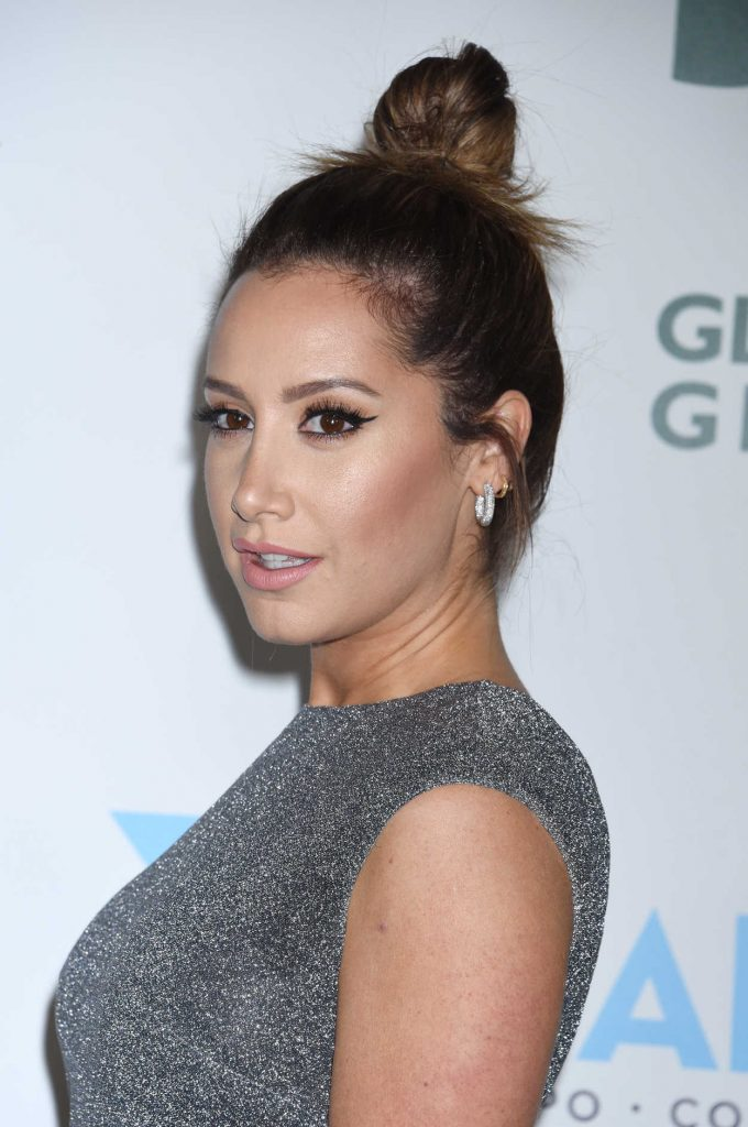 Ashley Tisdale at the 15th Annual Global Green Pre-Oscar Gala in Los Angeles 02/28/2018-4