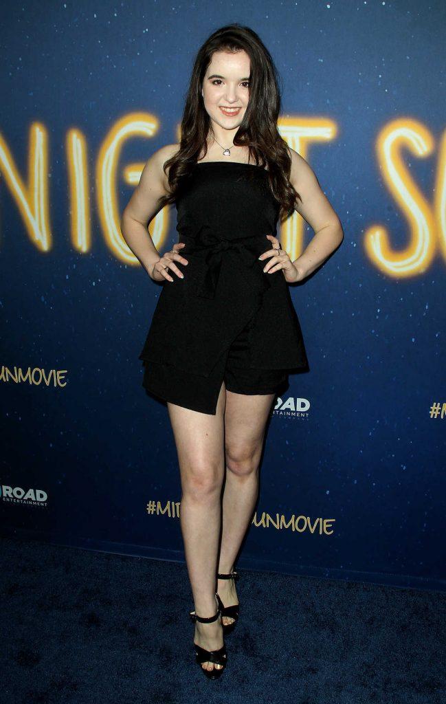 Aubrey Miller at the Midnight Sun Premiere in Los Angeles 03/15/2018-1