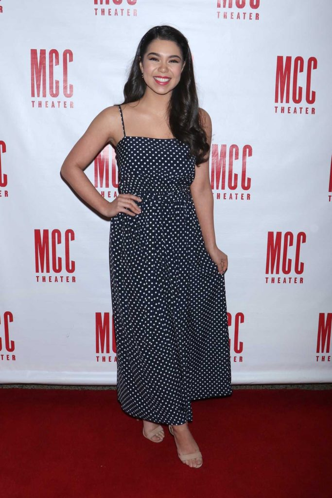 Auli'i Cravalho at the MCC Theater's Miscast Gala in New York 03/26/2018-2