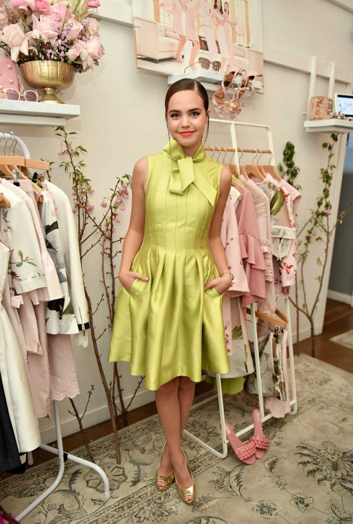 Bailee Madison at the Ted Baker London SS'18 Launch Dinner in Los Angeles 03/15/2018-1