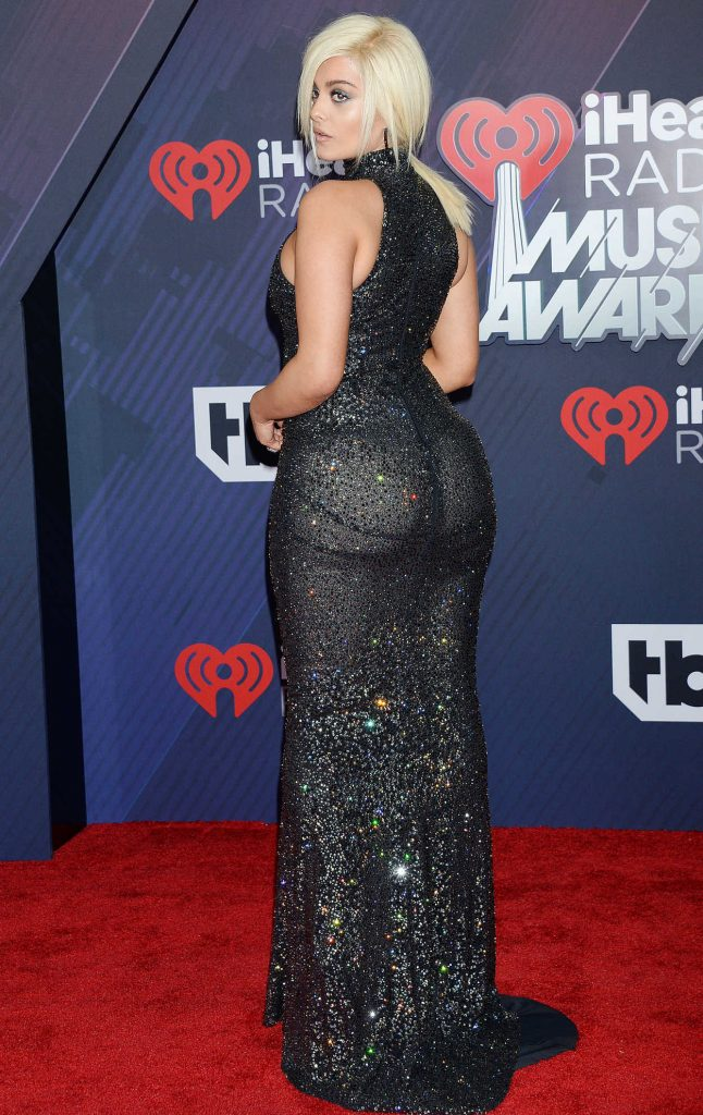 Bebe Rexha at 2018 iHeartRadio Music Awards in Inglewood 03/11/2018-3