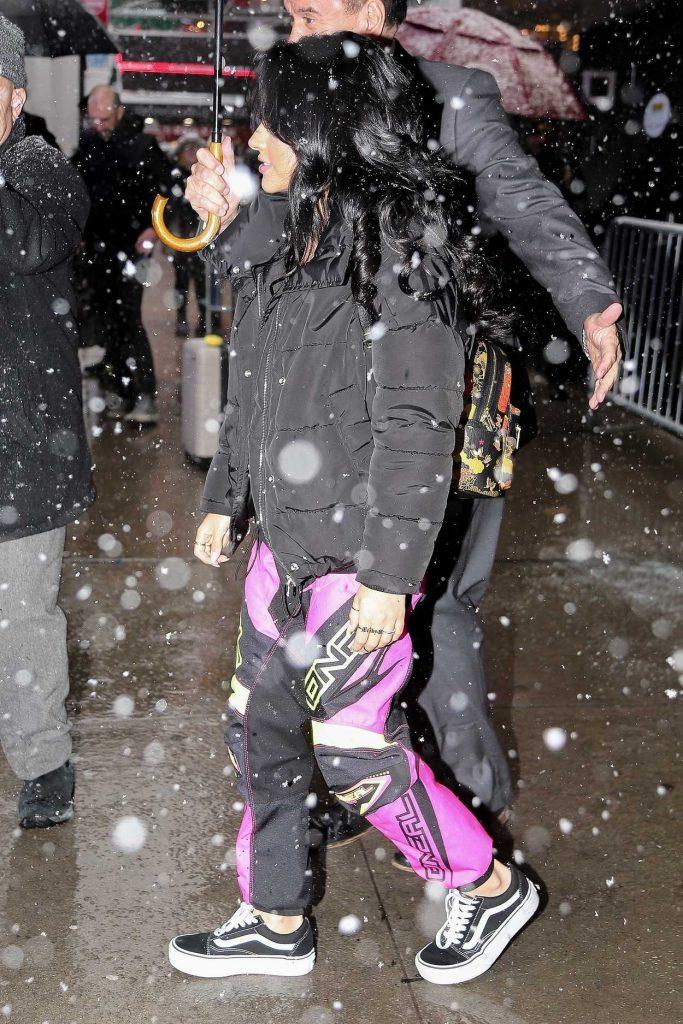 Becky G Leaves Good Morning America in New York City 03/21/2018-4