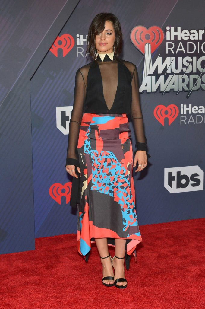 Camila Cabello at 2018 iHeartRadio Music Awards in Inglewood 03/11/2018-1
