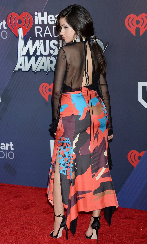 Camila Cabello at 2018 iHeartRadio Music Awards in Inglewood 03/11/2018-4
