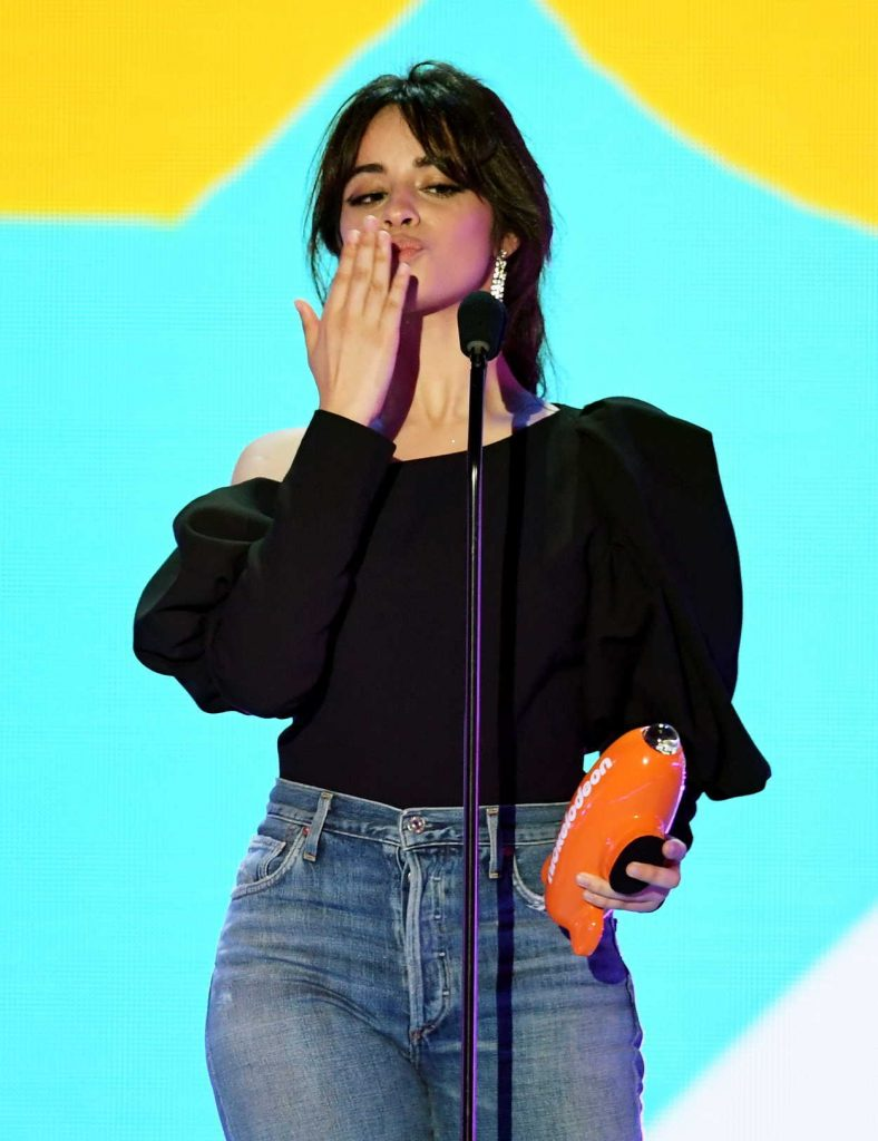 Camila Cabello at 2018 Nickelodeon Kids' Choice Awards in Los Angeles 03/24/2018-4