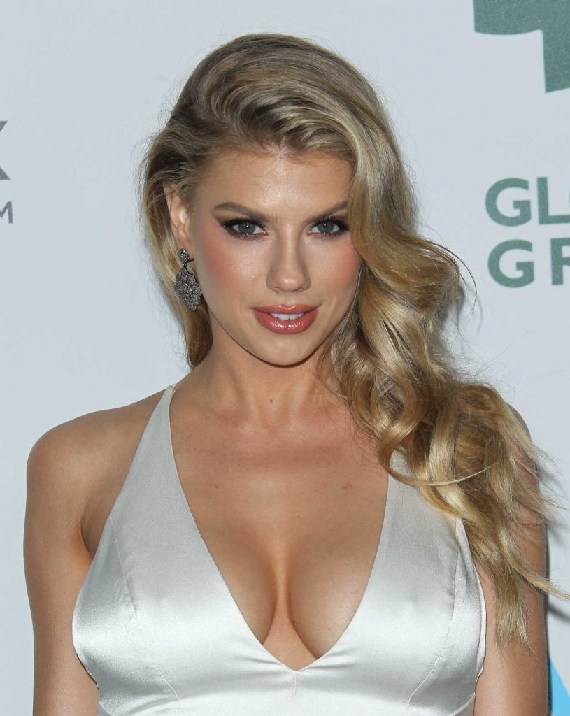Charlotte McKinney at the 15th Annual Global Green Pre-Oscar Gala in Los Angeles 02/28/2018-5