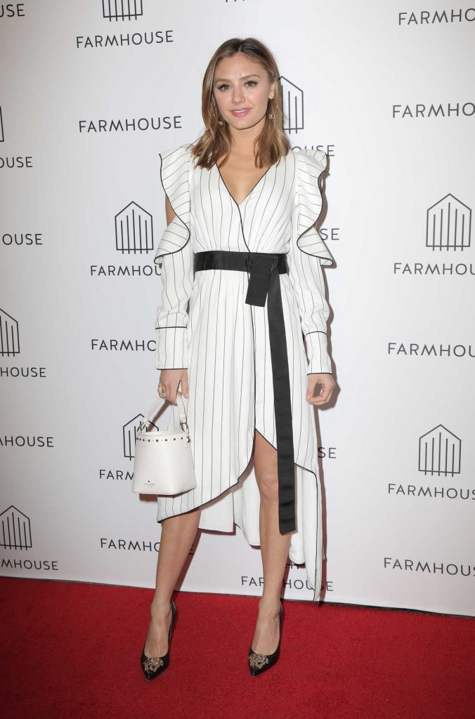 Christine Evangelista at the Grand Opening of Farmhouse at the Beverly Center in Los Angeles 03/15/2018-1