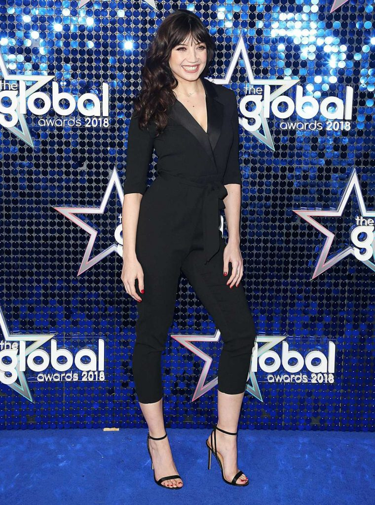 Daisy Lowe at 2018 Global Awards in London 03/01/2018-1
