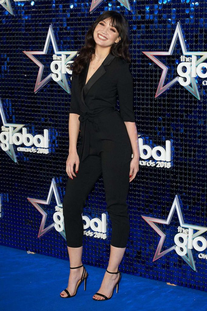 Daisy Lowe at 2018 Global Awards in London 03/01/2018-2