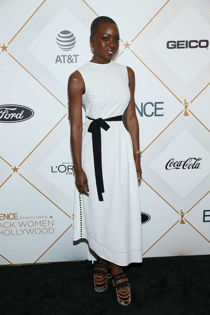 Danai Gurira at 2018 Essence Black Women in Hollywood Oscars Luncheon in Los Angeles 03/01/2018-1