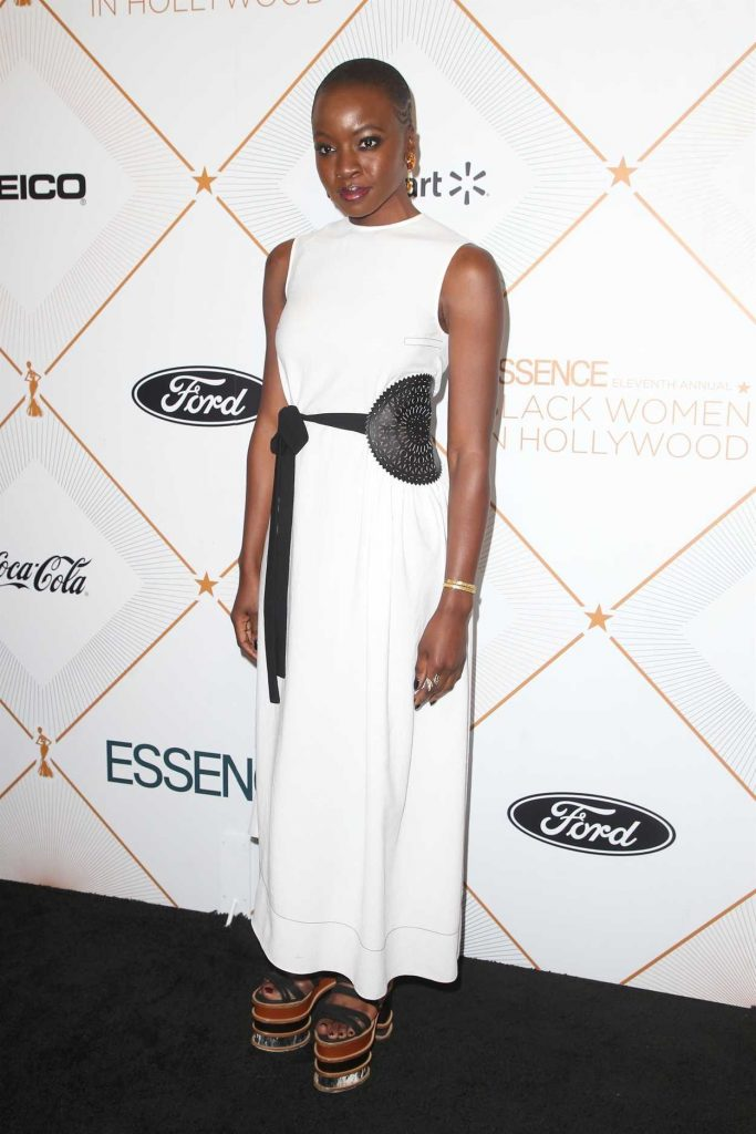 Danai Gurira at 2018 Essence Black Women in Hollywood Oscars Luncheon in Los Angeles 03/01/2018-2