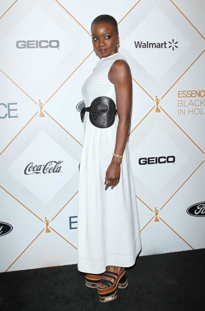 Danai Gurira at 2018 Essence Black Women in Hollywood Oscars Luncheon in Los Angeles 03/01/2018-3