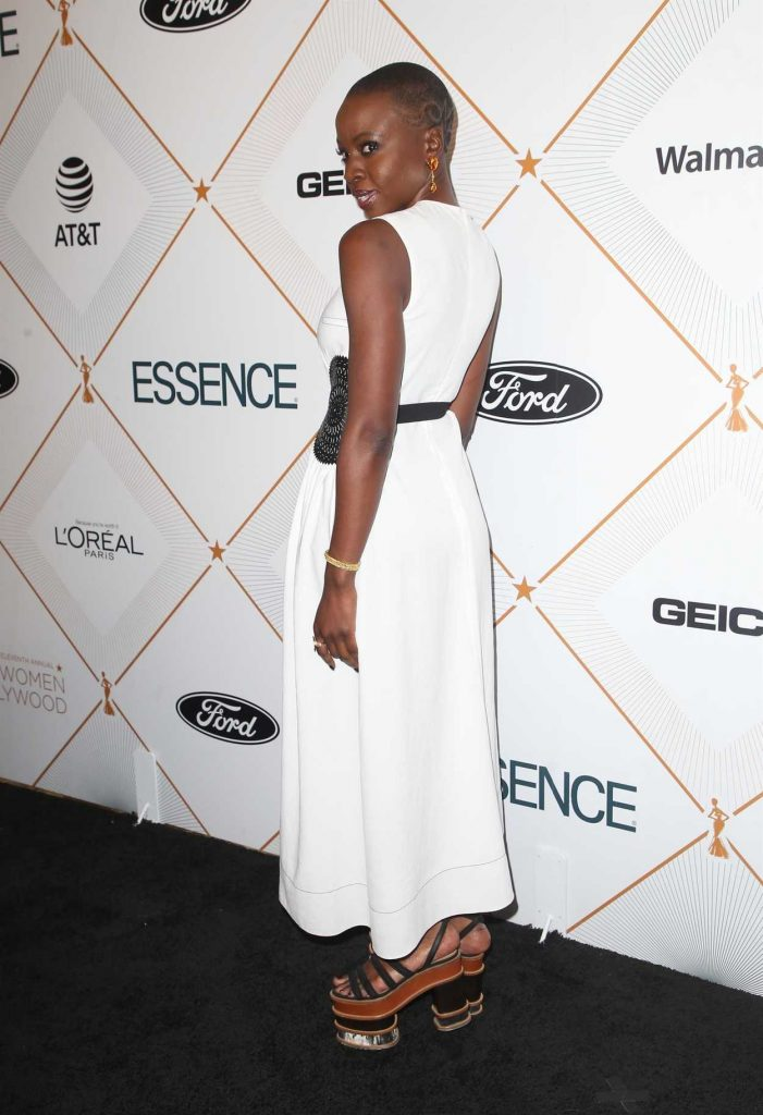 Danai Gurira at 2018 Essence Black Women in Hollywood Oscars Luncheon in Los Angeles 03/01/2018-4