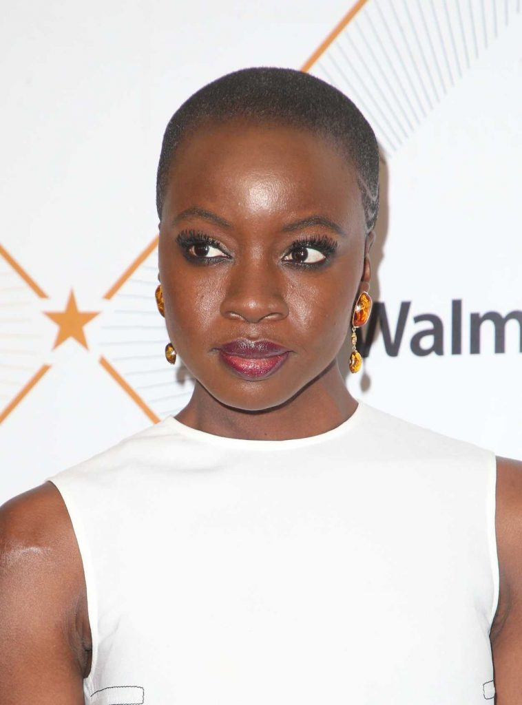 Danai Gurira at 2018 Essence Black Women in Hollywood Oscars Luncheon in Los Angeles 03/01/2018-5