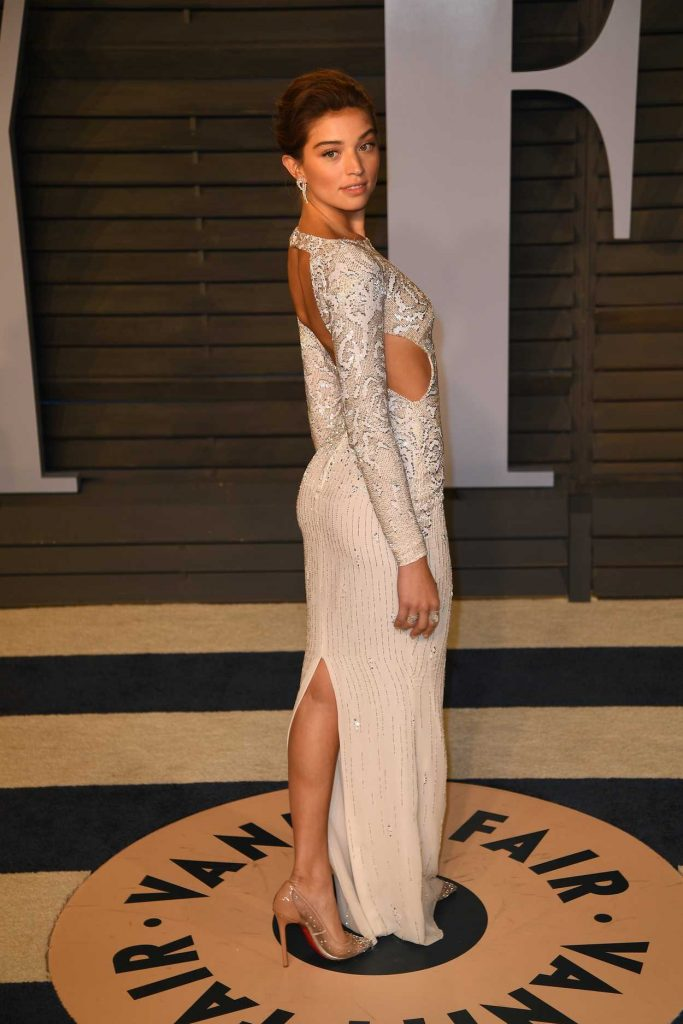 Daniela Lopez at 2018 Vanity Fair Oscar Party in Beverly Hills 03/05/2018-2
