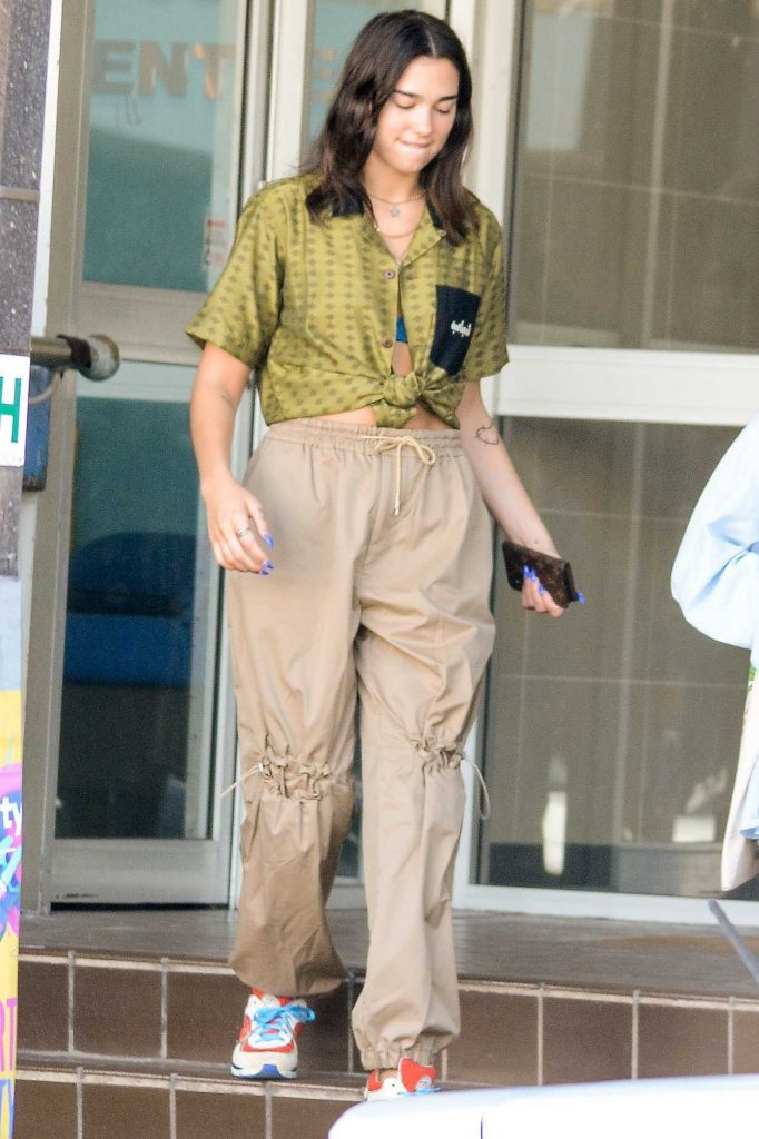 Dua Lipa Leaves a Dentist in Bondi, Australia 03/25/2018-1