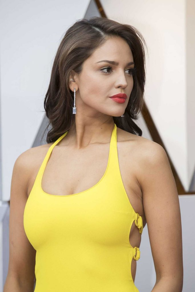 Eiza Gonzalez at the 90th Annual Academy Awards in Los Angeles 03/04/2018-5