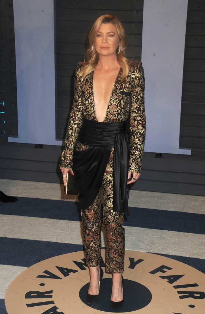 Ellen Pompeo at 2018 Vanity Fair Oscar Party in Beverly Hills 03/05/2018-1