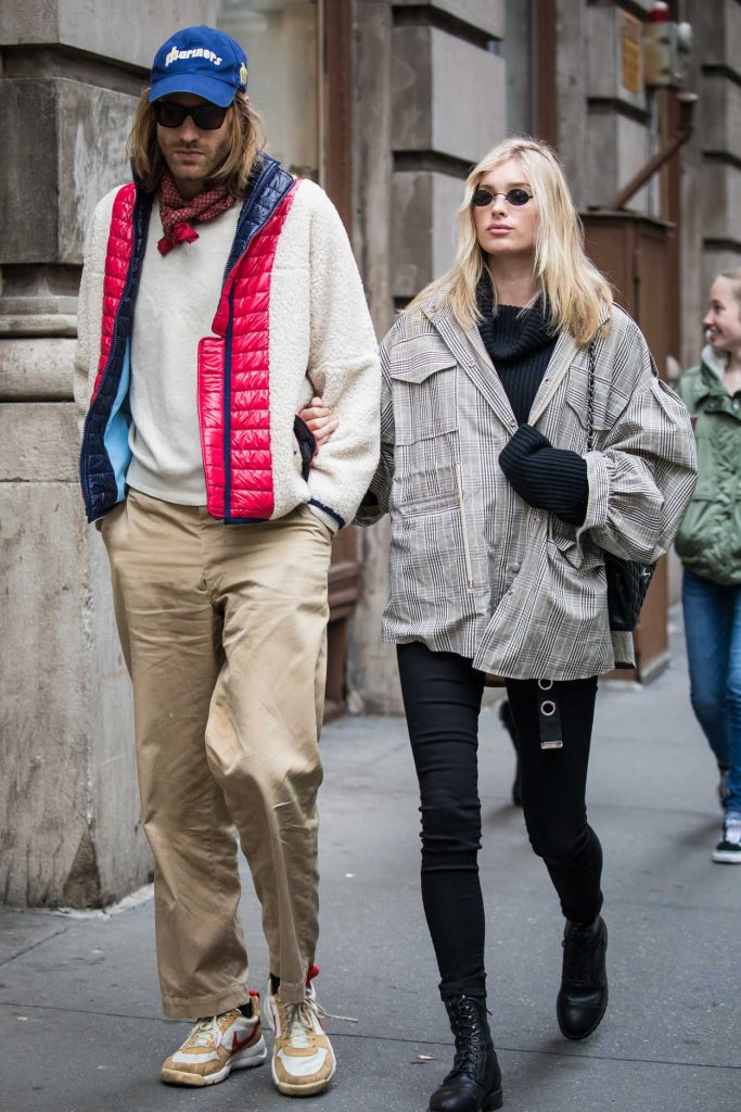 Elsa Hosk Was Seen Out in SoHo with Her Boyfriend Tom Daly 03/29/2018-1