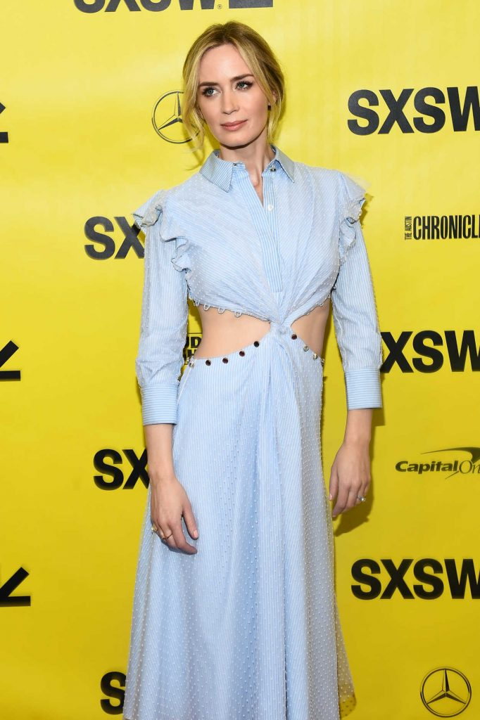 Emily Blunt at A Quiet Place Premiere During the SXSW Festival in Austin 03/09/2018-3