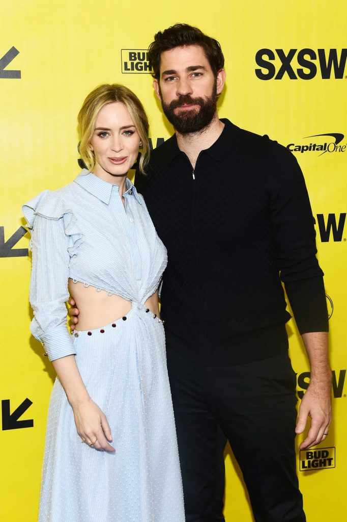 Emily Blunt at A Quiet Place Premiere During the SXSW Festival in Austin 03/09/2018-4