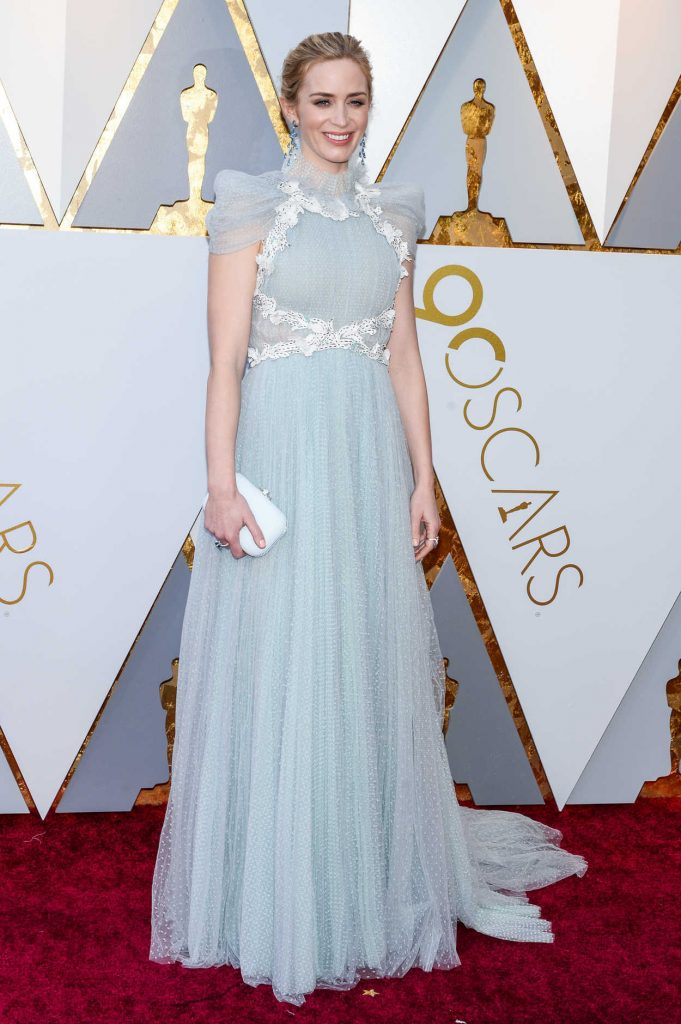 Emily Blunt at the 90th Annual Academy Awards in Los Angeles 03/04/2018-1