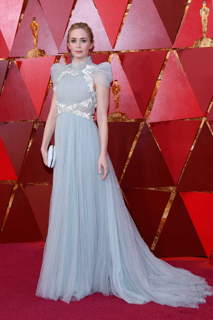 Emily Blunt at the 90th Annual Academy Awards in Los Angeles 03/04/2018-2