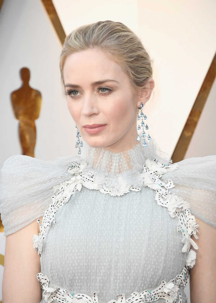Emily Blunt at the 90th Annual Academy Awards in Los Angeles 03/04/2018-5