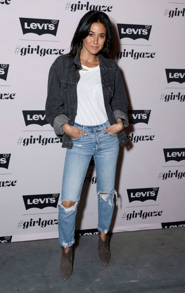 Emmanuelle Chriqui at the Levi's x Girlgaze Ishapemyworld Event in Los Angeles 03/15/2018-1
