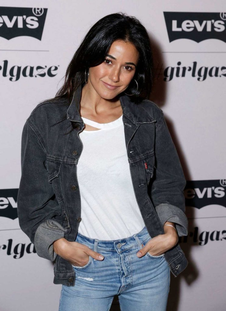 Emmanuelle Chriqui at the Levi's x Girlgaze Ishapemyworld Event in Los Angeles 03/15/2018-3
